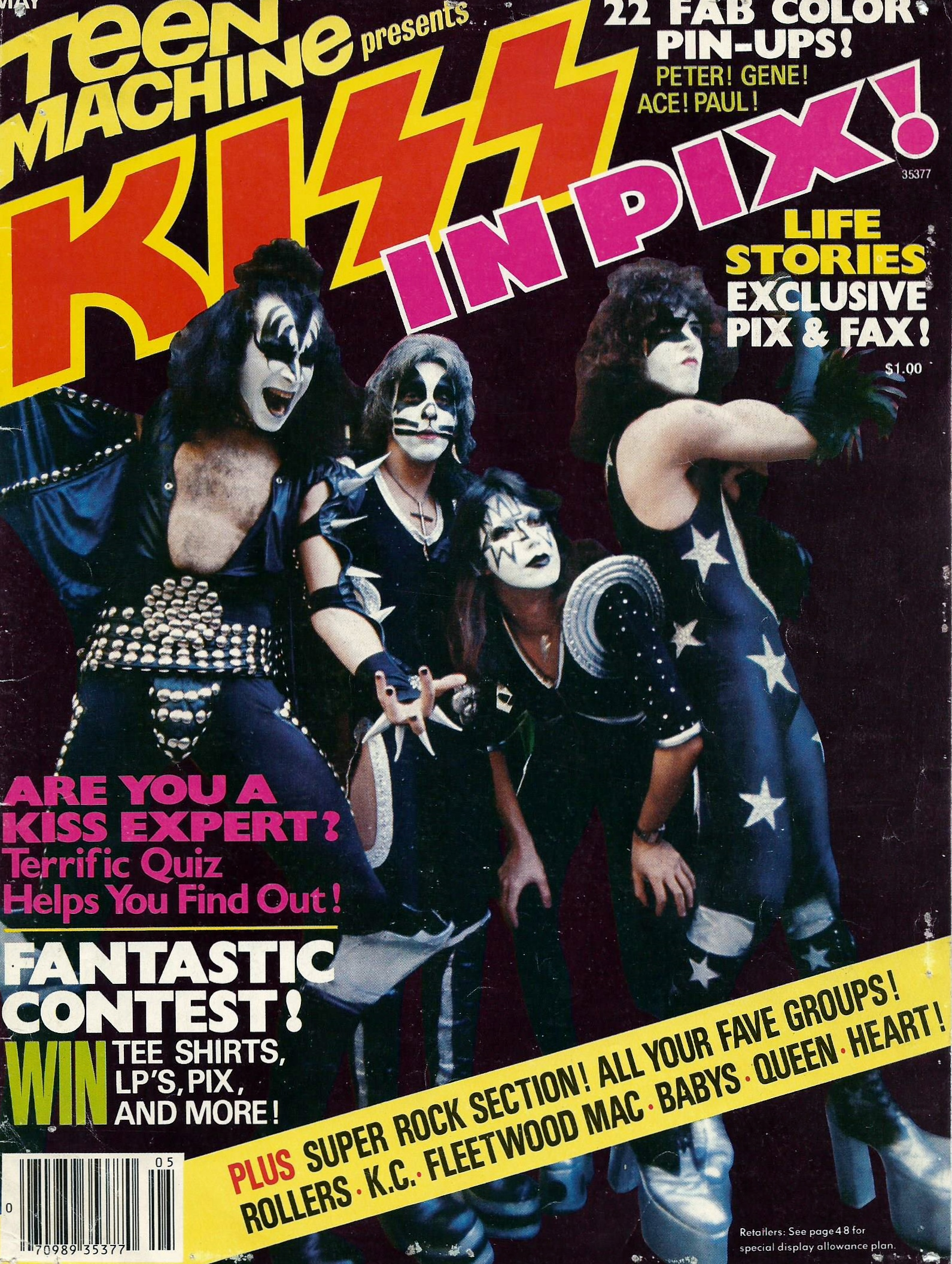 Magazine Covers Kisstorian