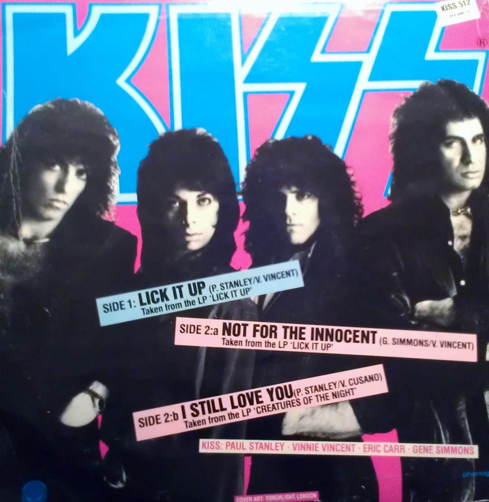 BEAUTIFUL! lyrics for lick it up by kiss need